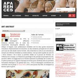 SITE Apparence, banque de données images et résumé des mouvements artistiques