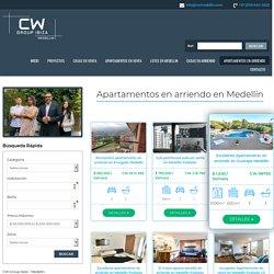 Apartamentos en arriendo en Medellín - CW Group