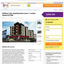 Edificio Lido, apartamentos zona 1, cuotas desde Q.3,500 - Ciudad de Guatemala