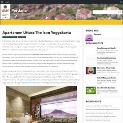 Apartemen Uttara The Icon Yogyakarta : Perdana