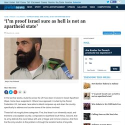 'I'm proof Israel sure as hell is not an apartheid state' - The Australian Jewish NewsThe Australian Jewish News