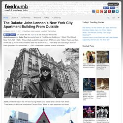 The Dakota: John Lennon's New York City Apartment Building From Outside