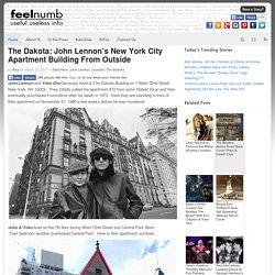 The Dakota: John Lennon's New York City Apartment Building From Outside