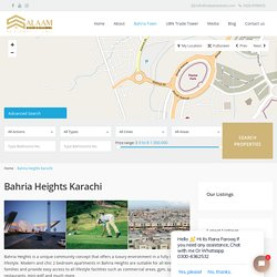 Apartment for sale in Bahria Heights Karachi - Salaam Estate & Builders