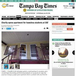 Charity opens apartment for homeless students at USF