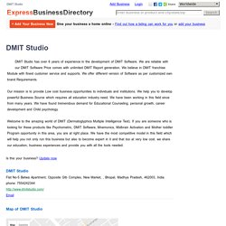 DMIT Studio, Flat No-5 Betwa Apartment, Opposite Gtb Complex, New Market, , Bhopal, Madhya Pradesh, 462003, India