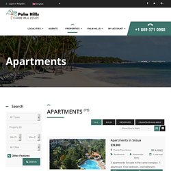 Get Apartments and Condos of your Dream in the Dominican Republic - palmhills.com.do