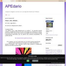 APEdario: Alberi, arte, alfabeti...