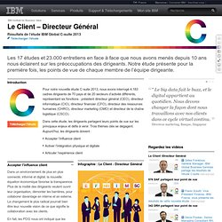 Aperçu de l'étude IBM Global C-Suite 2013 - France