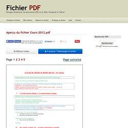 Aperçu du fichier Cours-2012.pdf - Page 1/5