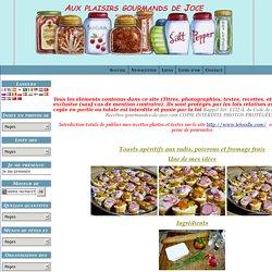 Toasts apéritifs aux radis, poivrons et fromage frais