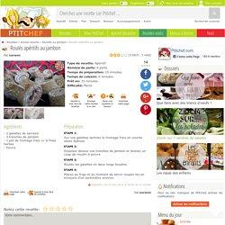 Roulés apéritifs au jambon, Recette Ptitchef