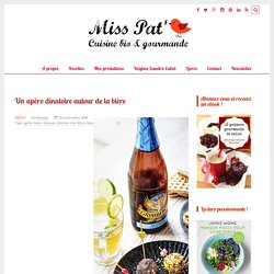 Cocktail aux agrumes, à la bière blanche