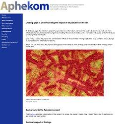 Aphekom.org