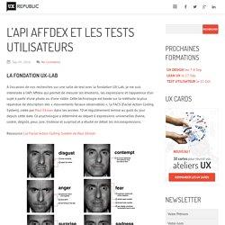 L'API Affdex et les tests utilisateurs
