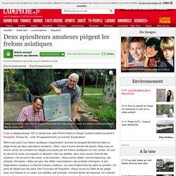 Deux apiculteurs amateurs piègent les frelons asiatiques - 05/09/2015 - ladepeche.fr