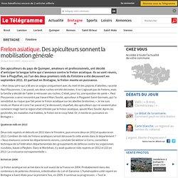 LE TELEGRAMME 30/03/14 Frelon asiatique. Des apiculteurs sonnent la mobilisation générale