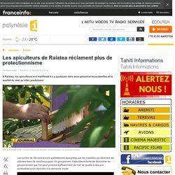 Les apiculteurs de Raiatea réclament plus de protectionnisme - polynésie 1ère