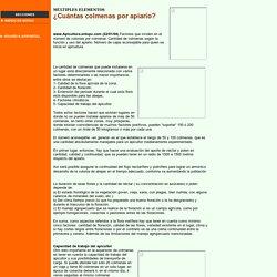 Notas de Apicultura Revista y Portal