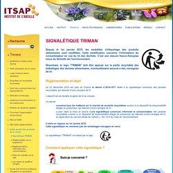Signalétique TRIMAN sur pot de miel - ITSAP