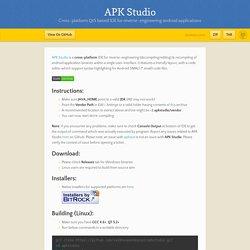APK Studio by vaibhavpandeyvpz