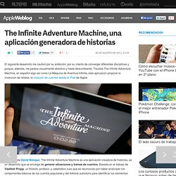 The Infinite Adventure Machine, una aplicación generadora de historias