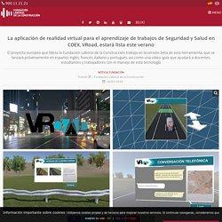 La aplicación de realidad virtual para el aprendizaje de trabajos de Seguridad y Salud en COEX, VRoad, estará lista este verano