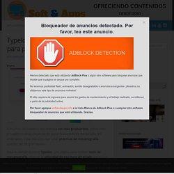 Typelor: la mejor aplicación web para practicar mecanografía – Soft & Apps