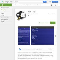 Wifi Fixer - Aplicaciones Android en Google Play
