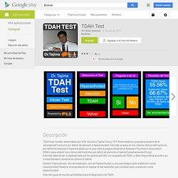 TDAH Test - Aplicaciones Android en Google Play