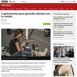 5 aplicaciones para aprender idiomas con tu celular - BBC Mundo