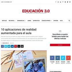 10 aplicaciones de realidad aumentada para usarlas en el aula