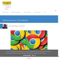 Aplicaciones para Chromebooks