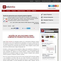 Reseña de aplicaciones para compartir productos digitales