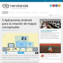 5 Aplicaciones Android para la creación de mapas conceptuales