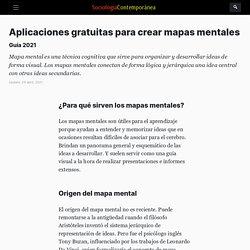 11 aplicaciones gratuitas para crear mapas mentales