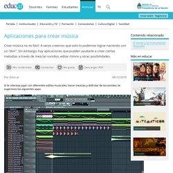 Aplicaciones para crear música