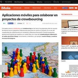 Aplicaciones móviles para colaborar en proyectos de crowdsourcing