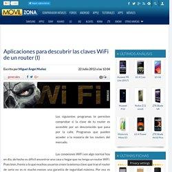 Aplicaciones para descubrir las claves WiFi de un router (I)