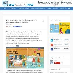 4 aplicaciones educativas para los más pequeños de la casa