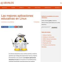 Las mejores aplicaciones educativas en Linux