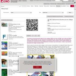TIC-TAC: Aplicaciones educativas de los códigos QR