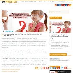 6 Aplicaciones gratuitas para el Trastorno Especifico del Lenguaje (TEL).