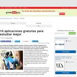 10 aplicaciones gratuitas para estudiar mejor