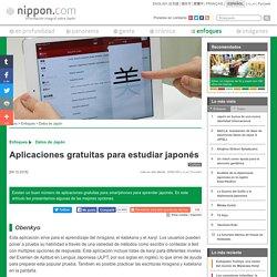 Aplicaciones gratuitas para estudiar japonés