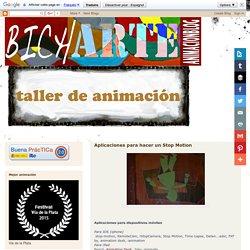 Taller de Curtametraxe e Animación do IES María Soliño. Obradoiro Curtas e Stop Motion: Aplicaciones para hacer un Stop Motion