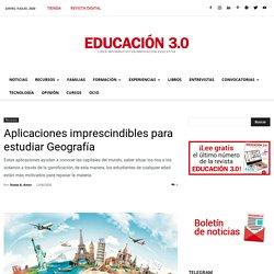 Aplicaciones imprescindibles para estudiar Geografía