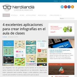4 excelentes aplicaciones para crear infografías en el aula de clases