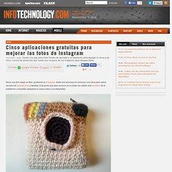 Cinco aplicaciones gratuitas para mejorar las fotos de Instagram