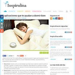 Apps que te ayudan a dormir bien